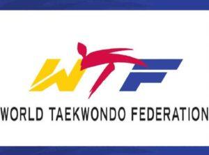 Logo de taekwondo wtf. WORD TAEKWONDO FEDERATION