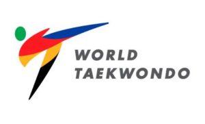 logo WT, logotype taewkondo WT, Word Taekwondo, es WTF