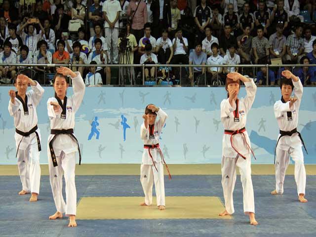taekwondo poomsae, pumse, taeguk