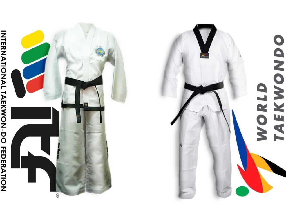 dobok, dobok de taekwondo, traje de taekwondo, indumentaria de taekwondo, ropa de taekwondo, uniforme de taekwondo