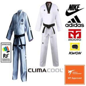 Los mejores Trajes de taekwondo kimono dobok adidas mooto nike kwon top ten