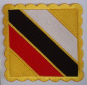 insignia Master taekwondo itf sagium nim sagionim amarillo blanco negro rojo amarillo