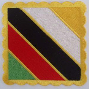 insignia senior master itf sosin sajion amarillo blanco negro rojo verde