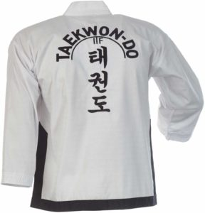 Dobok adidas ITF Sabonim cinturon negro kimono de taekwondo