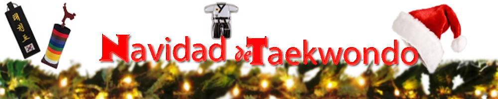 Regalos obsequios presentes de taekwondo para navidad