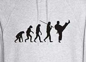 Sudadera taekwondo con capucha imagen evolucion del taekwondo